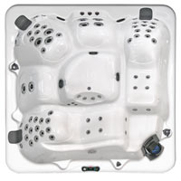 Coleman Spas Shell Layouts