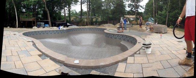 Salem Nh In Ground Pool Installation Liner Install