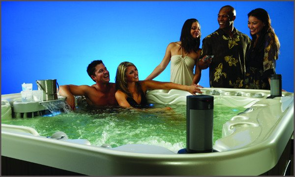 host the best hot tub party