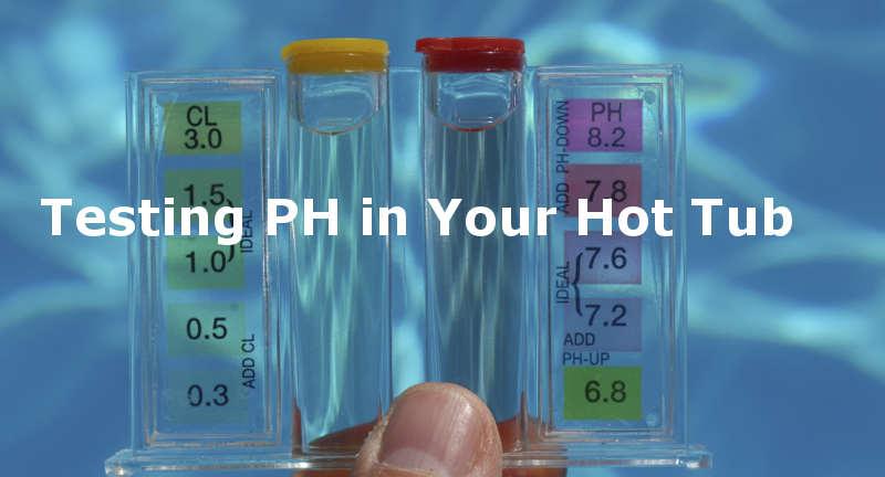 adjusting ph in a hot tub
