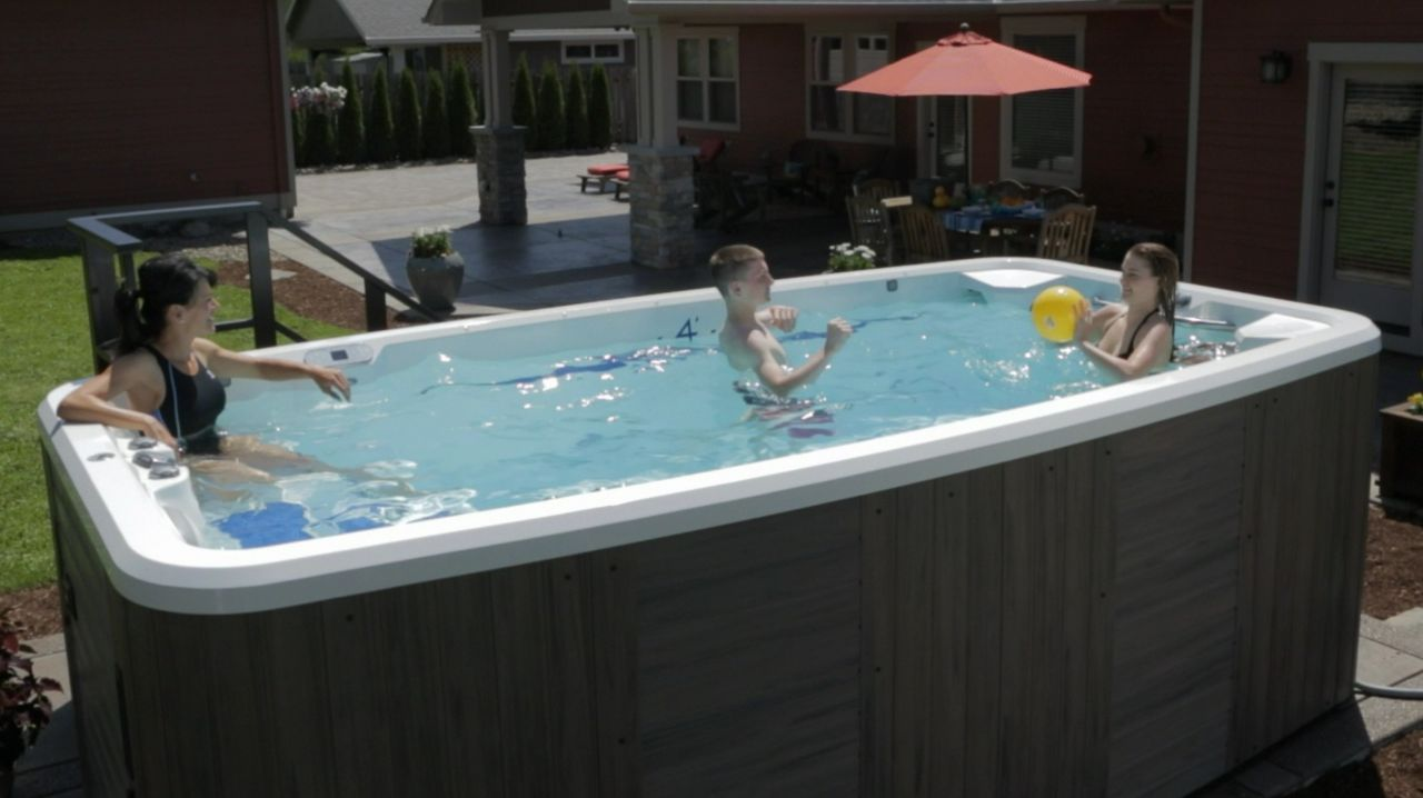 swim spas as small pool